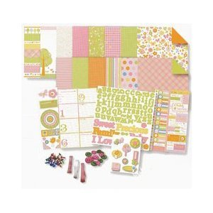 Deja Views - Baby Collection - 8 x 8 Album Kit 