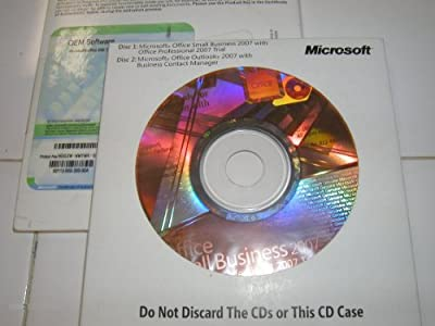 MICROSOFT OEM/DSP, Microsoft Office 2007 Small Business - 1 PC (Catalog Category: Computer Technology / Software Products)