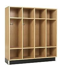 Diversified Woodcrafts BP-4815-51K Backpack Cabinet, 12 Openings, 51\
