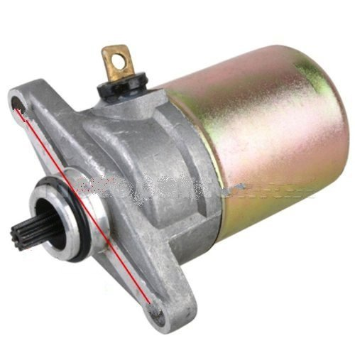 GY6 QMB139 50CC 50 STARTER MOTOR 12V SCOOTER MOPED ROKETA TAOTAO SUNL JONWAY NEW (43cc Scooter Motor compare prices)
