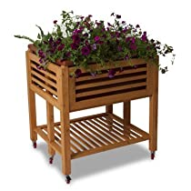 All Season Ergogarden Deluxe Raised Gardening Terra Cotta