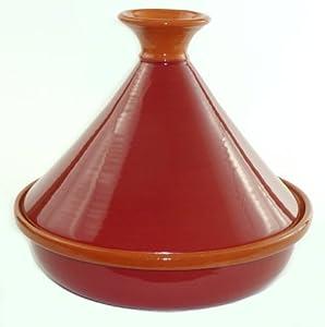 Le Souk Ceramique Cookable Tagine, Burgundy