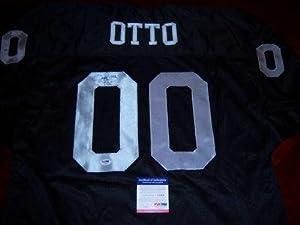 Jim Otto Signed Uniform - miami Hurricanes hof Jsa coa - Autographed NFL Jerseys by Sports+Memorabilia