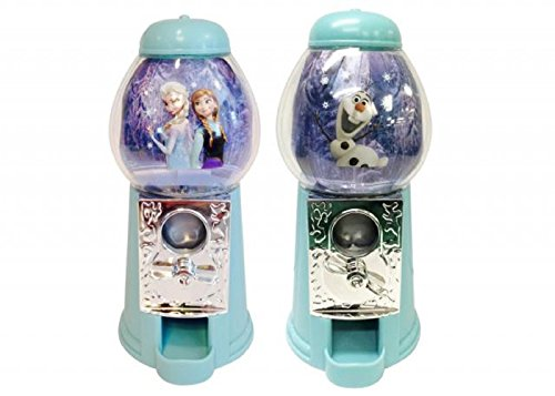Disney Frozen 7 Inch Candy Dispenser Set of 2 Assorted Elsa & Anna or Olaf - Great Gift or Stocking Stuffers - 1