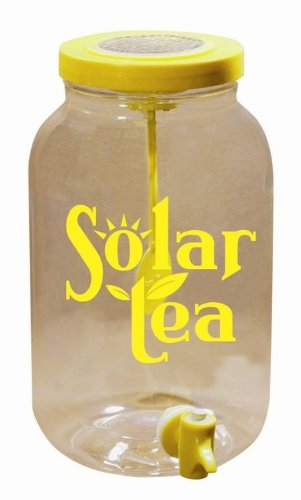 Solar Made T-10 Solar Powered Sun Tea Jar : Educational Toys Store