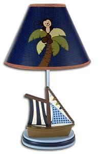NoJo Ahoy Mate Lamp and Shade