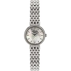 Ladies Rotary Wrist Watch with Mother of Pearl