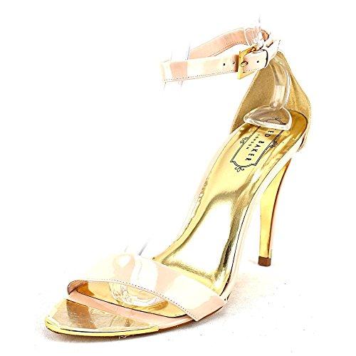 Ted Baker Women's Juliennas Dress Sandal, Nude Patent, 9 M US