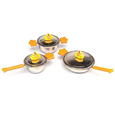BergHOFF Sheriff Duck 6-Piece Cookware Set