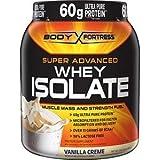 Body Fortress Super Advanced Whey Protein 2lb (Vanilla, 1 Pack)
