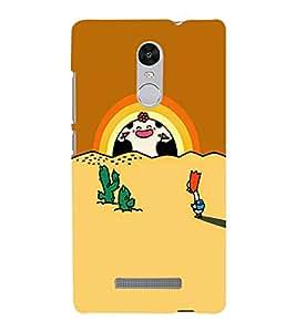 EPICCASE Happy sunrise Mobile Back Case Cover For Xiaomi Redmi Note 3 (Designer Case)