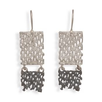 Mesh Link Earrings
