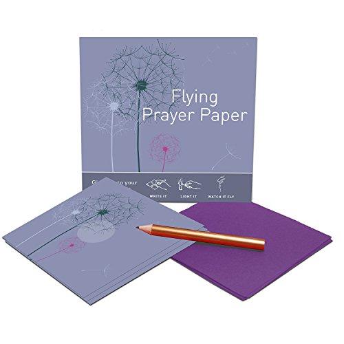 Flying Wish Paper Dandelion Prayers, Small (Color: Dandelion)