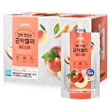 Konjac Jelly, Healthy and Natural Weight Loss Dietary Supplement, 150g X 10 Packs (Peach)