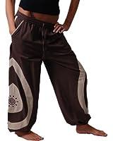 Unisex Psy Baggy Pants Hippie Goa Baumwoll Hose