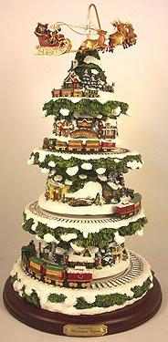 Christmas Tree Thomas Kinkade Wonderland Express Christmas Tree New 07
