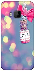 Snoogg Love Potion Designer Protective Back Case Cover For Htc One M9