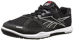 Reebok Men\'s R Crossfit Nano 2.0 Training Shoe, Black/White, 12 M US