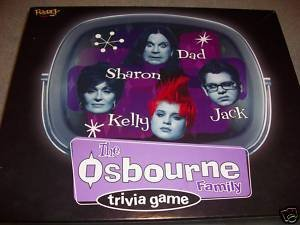 The Ozzy Osbourne Family Trivia Game - 1