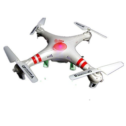 Ericoco F2 Aviax Drone 2.4GHz 6-Axis Gyro Quadcopter RC Explorers LED Flashing Lights Helicopter Quad Copter with HD 2.0M Pixels Camera & 4G SD Card (Jobs Hiring Ch compare prices)