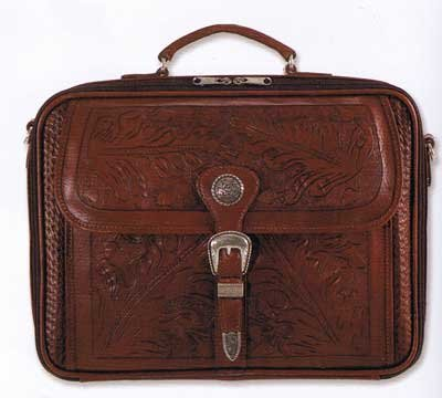 Brown Western Tooled Leather Slimline Four Compartment American West Mens Oak Leaf Briefcase - Buy Brown Western Tooled Leather Slimline Four Compartment American West Mens Oak Leaf Briefcase - Purchase Brown Western Tooled Leather Slimline Four Compartment American West Mens Oak Leaf Briefcase (American West, American West Accessories, American West Mens Accessories, Apparel, Departments, Accessories, Men's Accessories)