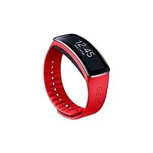 Samsung ETSR350BREGWW Bracelet d'origine pour Samsung Galaxy Gear Fit Rouge