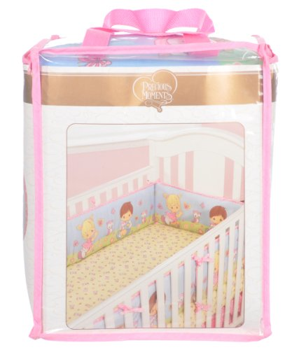 Baby Boom We Love Babies Precious Moments Crib Bumper