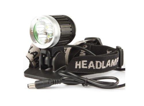 New 3800Lm 3X Cree Xm-L T6 Led Outdoor Headlight Headlamp Bicycle / Bike Light