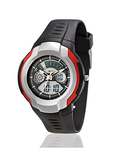Yepme Men's Analog Digital Watch – Black