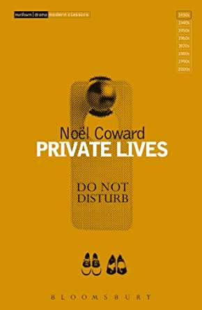 A literary analysis of private lives by noel cowards