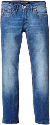 Kaporal - REAN, Jeans per bambini e ragazzi, blu (blau  (fripe)), 10 anni