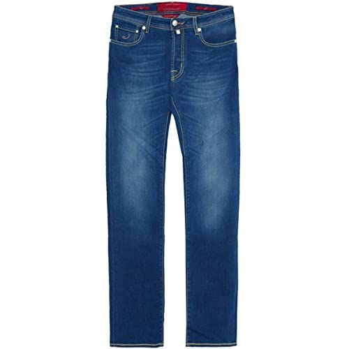 <strong>Jacob Cohen Slim Fit Peach <strong>Jeans Blue