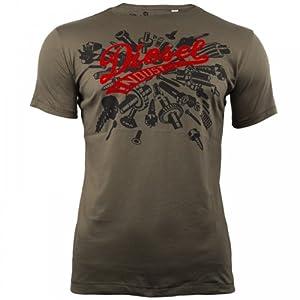 Tee Shirt Diesel Horley Kahki XL
