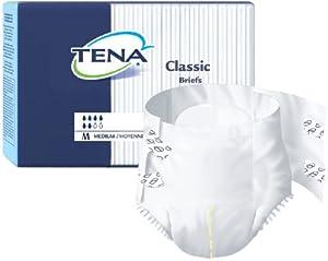 Tena Classic Brief, Case of 100, Medium from SCA
