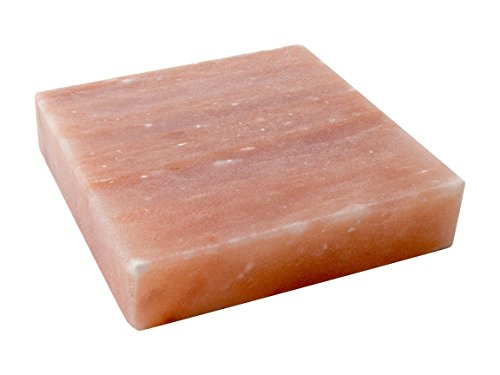 Great Deal! Himalayan Salt Slab Block for Grilling, Searing, Chilling, Seasoning & Serving, 8x8x...