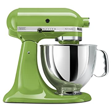 KitchenAid KSM150PSGA Artisan Series 5-Quart Stand Mixer (Green Apple)