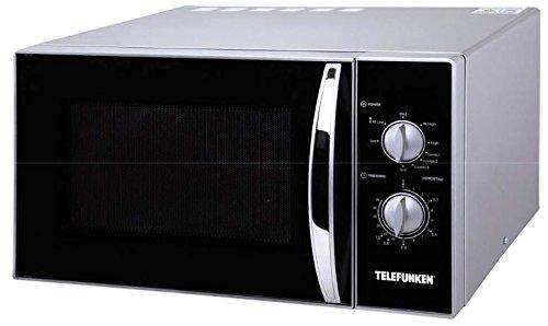 Telefunken M01627 Micro-ondes 23 L Noir, Argent