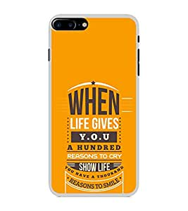 ifasho quotes on success Back Case Cover for Apple iPhone 7 Plus