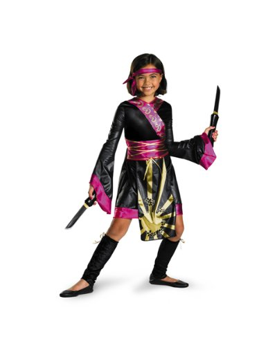 Disguise DI50042-L Girls Dragon Ninja Costume Size Large