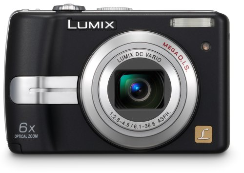 Panasonic Lumix DMC-LZ7 is one of the Best Point and Shoot Digital Cameras for Travel, Child, Action, and Low Light Photos Under $200