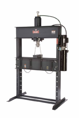 "Dake Force 50Da Model Electrically Operated Hydraulic Dura Press, 50 Ton Capacity, 110V, 1 Phase, 55"" Length X 36"" Width X 88"" Height"