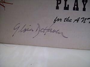 Dehaven, Gloria Ricardo Montalban Playbill Signed Autograph Seventh Heaven 1955