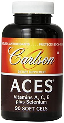buy Carlson Aces Antioxidant Formula, 90 Softgels