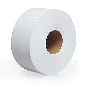 Scott 1000 Jumbo Roll JR. Commercial Toilet Paper (07805), 2-PLY, White, 12 Rolls / Case, 1000' / Roll