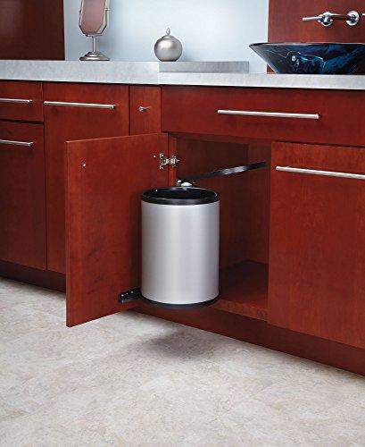rev a shelf 8 010314 15 15 liter pivot out waste. Black Bedroom Furniture Sets. Home Design Ideas