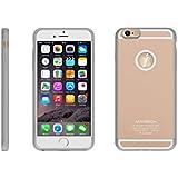 [出力1A 改良版] MATECH iPhone6 / iPhone6s ウルトラスリム ケース [Qi チー 規格 ワイヤレス充電 対応] (1年保証) (ゴールド)