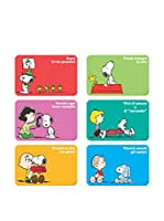 Enjoy Home Set Mantel Individual 6 Uds. Snoopy Multicolor