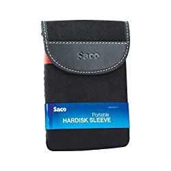 Saco External Hard disk Sleeve for Samsung M3 Portable 2 TB External Hard Drive - Black