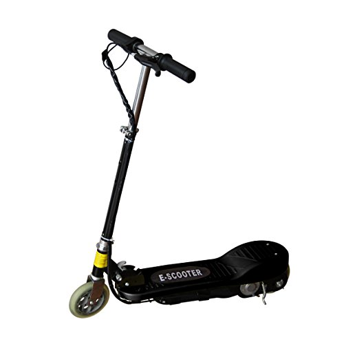 Maxtra® Electric Scooter Motorized Scooter Bike Rechargeable Battery Black E120
