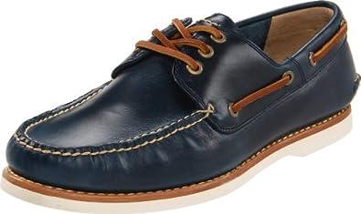 FRYE Men's Sully Boat Shoe Blue 7 M US